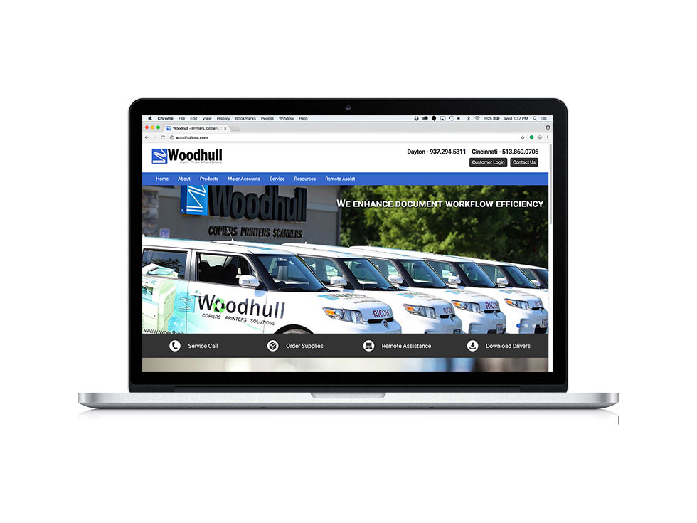 Woodhull Website