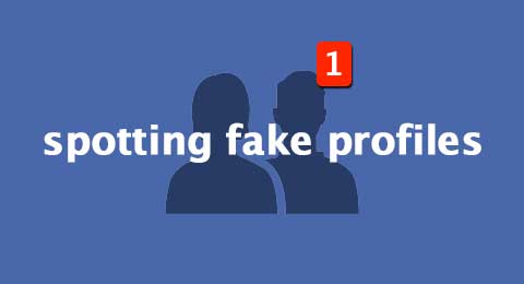 Spotting fake facebook profiles